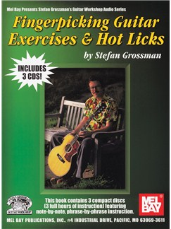 Fingerpicking Guitar Exercises & Hot Licks Books and CDs | Guitar