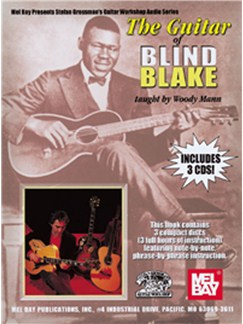 The Guitar Of Blind Blake Taught By Woody Mann Books and CDs | Guitar