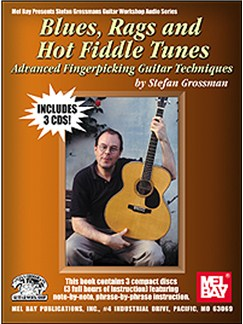 Stefan Grossman: Blues, Rags And Hot Fiddle Tunes Books and CDs | Guitar