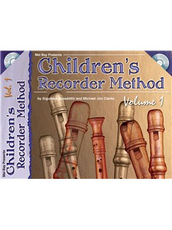 Children's Recorder Method, Volume 1 Books and CDs | Recorder