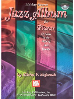 Jazz Album for Piano Books and CDs | Piano