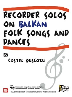Recorder Solos On Balkan Folk Songs and Dances Books | Recorder