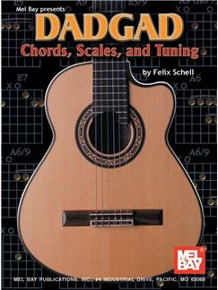 Felix Schell: DADGAD Chords, Scales, And Tuning Books | Guitar