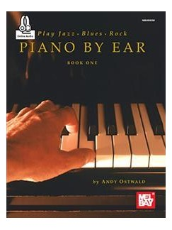 Play Jazz, Blues, & Rock Piano By Ear Book One (Book/CD) Books and CDs | Piano