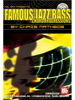 Famous Jazz Bass Chord Progressions QWIKGUIDE Books and CDs | Bass Guitar, Bass Guitar Tab