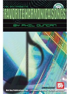 Favorite Harmonica Songs QWIKGUIDE Books and CDs | Harmonica