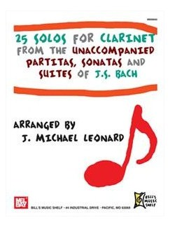 25 Solos for Clarinet Books | Clarinet