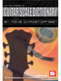 Guitar Scale Dictionary QWIKGUIDE Books | Guitar