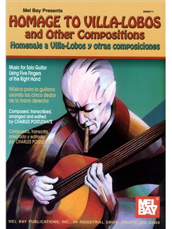 Charles Postlewate: Homage to Villa-Lobos And Other Compositions Books | Guitar