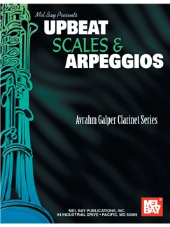 Upbeat Scales and Arpeggios Books | Clarinet
