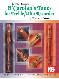 O'Carolan's Tunes for Treble/Alto Recorder Books | Alto (Treble) Recorder