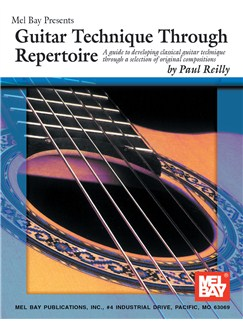 Guitar Technique through Repertoire Books | Guitar