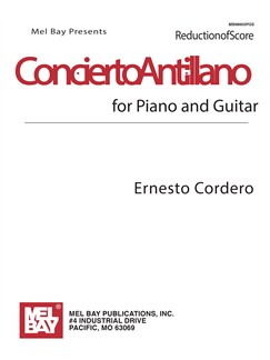 Concierto Antillano Score Books | Guitar