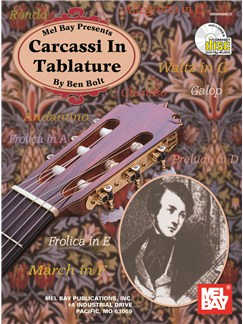 Ben Bolt: Carcassi In Tablature Books and CDs | Guitar Tab