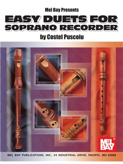Easy Duets for Soprano Recorder Books | Soprano (Descant) Recorder (Duet)