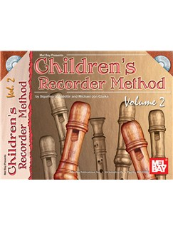Children's Recorder Method, Volume 2 Books and CDs | Recorder