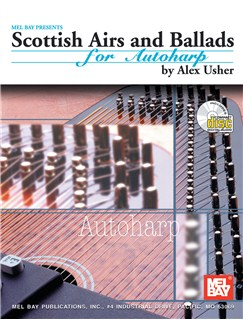 Scottish Airs and Ballads for Autoharp Books and CDs | Autoharp, Zither