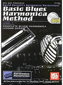 Basic Blues Harmonica Method Level 1 Books and CDs   Harmonica