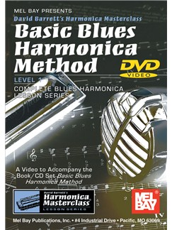Basic Blues Harmonica Method DVDs / Videos | Harmonica