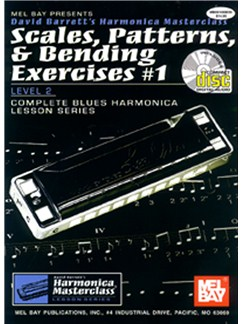 Scales, Patterns And Bending Exercises Level 1 Books and CDs | Harmonica