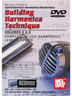 Building Harmonica Technique, Volume 3 & 4 DVDs / Videos | Harmonica