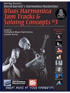 Blues Harmonica Jam Tracks & Soloing Concepts #3 (Book/Online Audio) Books | Harmonica