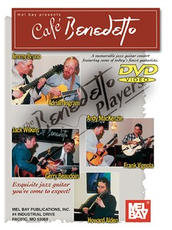 Cafe Benedetto DVDs / Videos | Guitar