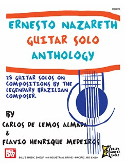 Ernesto Nazareth Guitar Solo Anthology Books | Guitar