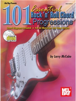 101 Essential Rock N Roll Chord Progressions Books and CDs | Guitar