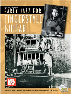 Lasse Johansson: Early Jazz For Fingerstyle Guitar Books and CDs | Guitar Tab
