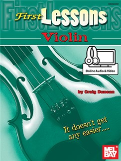 Craig Duncan: First Lessons Violin (Book/Online Audio/Video) Books and Digital Audio | Violin