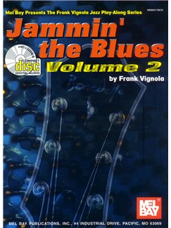 Jammin' the Blues Volume 2 Books and CDs | Guitar