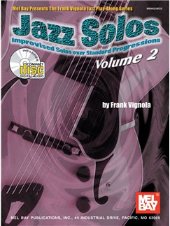 Jazz Solos, Volume 2 Books and CDs | Guitar