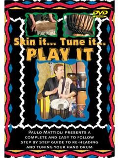 Paulo Mattioli: Skin It, Tune It, Play It DVDs / Videos | Hand Drum