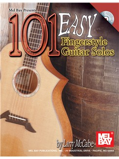 100 Easy Fingerstyle Guitar Solos Books and CDs | Guitar