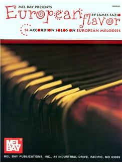 European Flavor (Accordion Solos) Books | Accordion