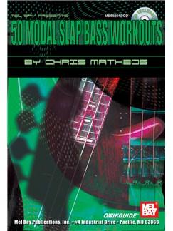 50 Modal Slap Bass Workouts (Book And CD) Books and CDs | Bass Guitar
