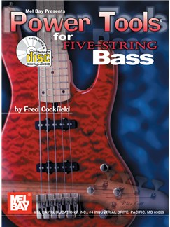 Power Tools for Five-String Bass Books and CDs | Bass Guitar, Bass Guitar Tab