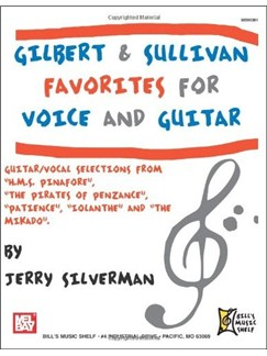 Gilbert and Sullivan Favorites for Voice and Guitar Books | Guitar