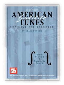American Fiddle Tunes for Solo & Ensemble-Viola,Score Violin 3 Books | Viola