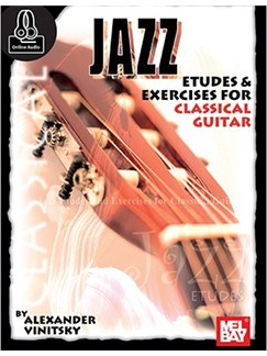 Jazz Etudes And Exercises For Classical Guitar (Book/Online Audio) Books | Guitar