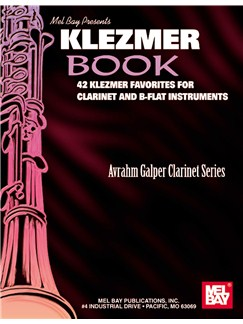Klezmer Book: 42 Klezmer Favourites For Clarinet And B-Flat Instruments Books | Clarinet