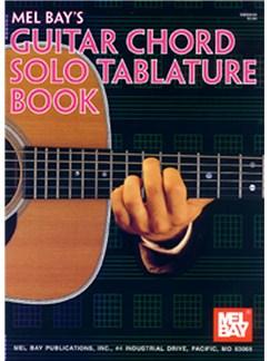 Guitar Chord Solo Tablature Book Books | Guitar, Guitar Tab