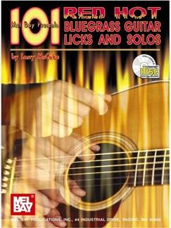 101 Red Hot Bluegrass Guitar Licks Books and CDs | Guitar
