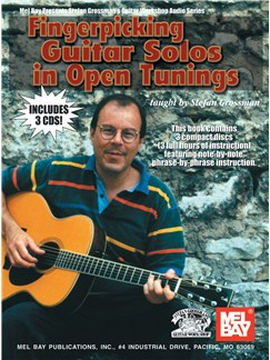 Fingerpicking Guitar Solos In Open Tunings Books and CDs | Guitar