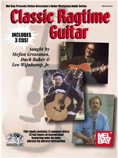 Classic Ragtime Guitar Books and CDs | Guitar