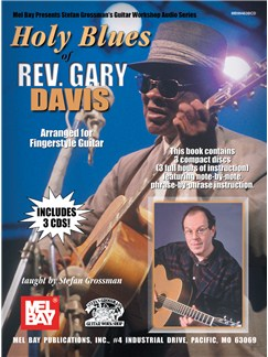 Holy Blues Of Rev. Gary Davis Books and CDs | Guitar