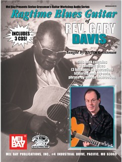 Ragtime Blues Guitar of Rev. Gary Davis (Book/3-CD Set) Books | Guitar