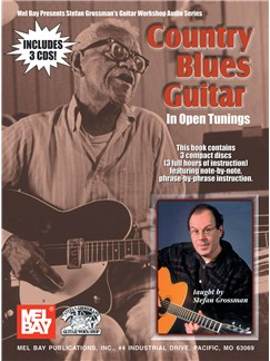 Country Blues Guitar In Open Tunings Books and CDs | Guitar