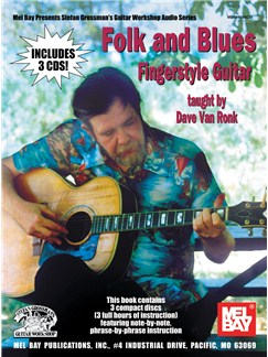 Folk & Blues Fingerstyle Guitar Books and CDs | Guitar